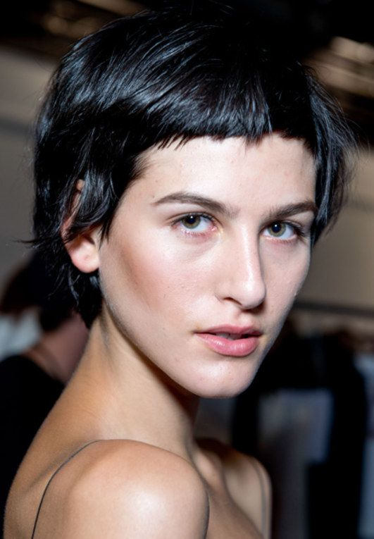 Kurze Haare short haircut style picture